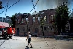 Луганск, обстрел, жители, электричество, вода, газ