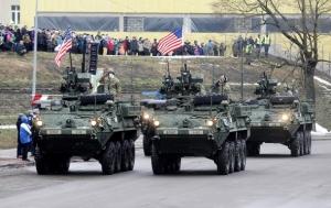 эстония, танки, учения, нато
