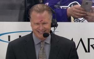 хоккей, комментатор, НХЛ, Брайан Энгблом, шайба, травма