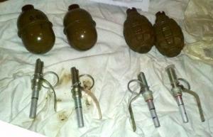 Славянск, почта, гранаты, боеприпасы, Донецкая область, Украина, криминал