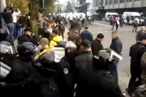 Украина, Киев, Митинг, Верховная Рада, Михаил Саакашвили, Протест, Нацполиция, Палатки