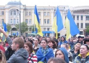 Харьков, митинг, сепаратизм, единство, Россия