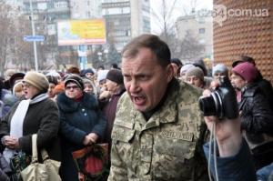 мобилизация, акция протеста, краматорск, АТО, восток украины, военкомат
