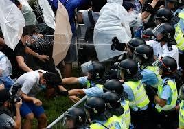 Гонконг, протесты, протестующие, власти, сила, контроль