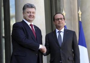 порошенко, донбасс, политика,  общество, франция, восток украины