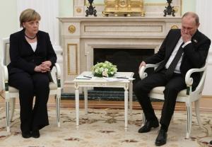 путин, меркель, украина, россия, визит