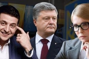 украина, выборы, порошенко, зеленский, тимошенко, Выборы 2019: Экзитпол, результат и подсчет голосов первый тур - стал известен победитель: онлайн-трансляция ЦИК