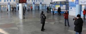 """флешмоб, видео, луганск, студенты, железнодорожный вокзал луганска, ато, """"лнр"""", донбасс, новости украины"""