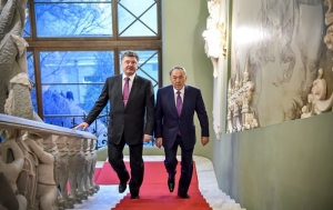 попрошенко, назарбаев, украина, казахстан, визит, минские договоренности