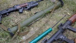 Ополченцы,танк, Град, ПЗРК, боеприпасы