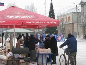 Дебальцево, открытие елки, Донецкая область, ДНР, терроризм, новости, Украина, Донбасс