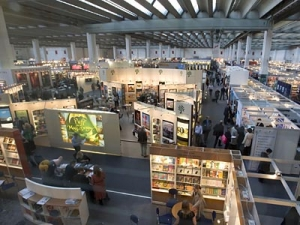 Книжная выставка, германия, Франкфурт-на-Майне, Франк-Вальтер Штайнмайер