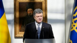 Порошенко, Украина хочет мира, мирная нация, защита государства, Национальный музей, Тарас Шевченко