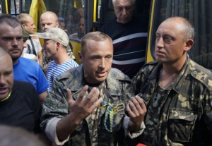 """батальон """"Винница"""", Мариуполь, Новоазовск, автоматы, блок-посты, помощь"""