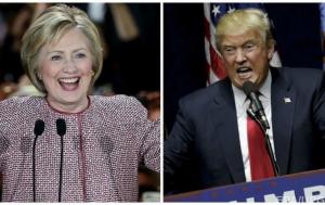 дональд трамп, хиллари клинтон, сша, выборы, политика. нью-йорк
