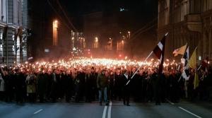 латвия, новости латвии, политика, марш в латвии, факельное шествие в латвии, день независимости латвии, рига, новости риги