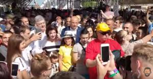 петр порошенко, президент украины, ивано-франковск, фестиваль, видео, украинцы, европейская солидарность,  партия