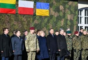 Петр Порошенко, президент Украины, политика, новости, ЛитПолУкраБригада, люблин, Грибаускайте, Дуда