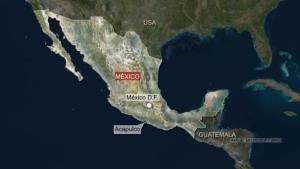 мексика, землетрясение