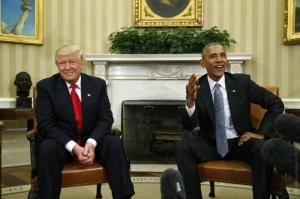 Трамп, Обама, Вмешательство в выборы США, Россия