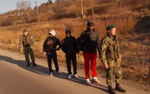 украина, львовская область, государственная граница, задержание, граждане сьерра-леоне