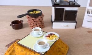 кухня, япония, миниатюра