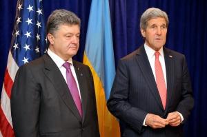 керри, трансляция, порошенко, киев, встреча