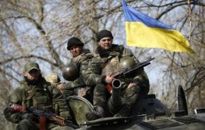 АТО, украинские военные, донбасс, днр