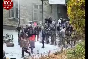 киев, кличко, общежите, выселение, киевгорстрой-2, полиция