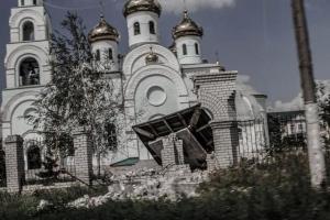 Донбасс, храмы, православные, прихожане, разрушены, АТО,