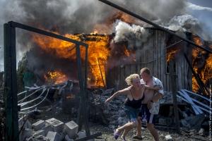 АТО, выжженная земля, боевики, ВСУ