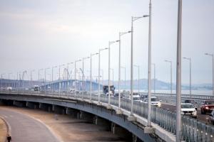 новости, Украина, Крым, Керченский мост, Крымский мост, статистика, антирекорд, провал, поток транспорта