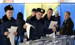 Украина, выборы, Нацгвардия, армия Украины, Верховная Рада, общество, парламент, ВСУ, избиратели