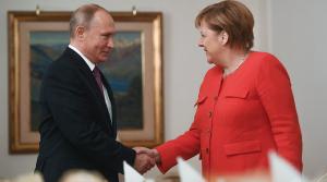 Россия, Меркель, Москва, Кремль, Путин, Встреча.