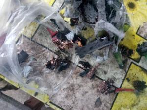 Донбасс, ООС, Пресс-служба, БПЛА, Сбитый дрон боевиков, Разведка, Детонировал при падении, ВСУ, Горловка, Оборона, Позиции