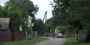 День государственного флага Украины, День независимости Украины, Авдеевка, Черниговская область, рекорд Украины