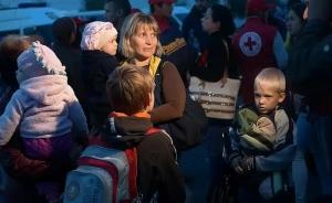 переселенцы, украина, донбасс, внутренне перемещенные лица, военные действия