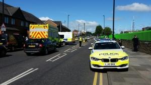 происшествие в Великобритании, авария, автомобиль врезался в группу людей, Ураза-Байрам