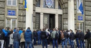 львовская область, назначение прокурора, прокурор мякишев, акция протеста, общество, фото, происшествия, украина