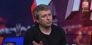 """Юрий Романенко, эфир телеканала """"Зик"""", выгнали из студии за русский язык"""