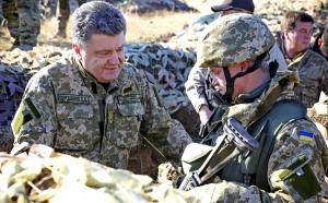 Порошенко, Украина, война, армия, ВСУ, день защитника