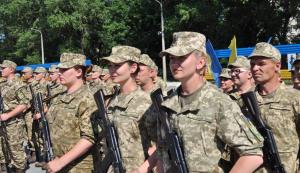 ВСУ, Васильковский гарнизон, защитники Отечества, военнослужащие Украины, принятие присяги в Василькове