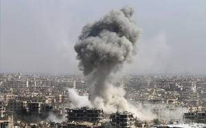 Россия, Сирия, война в Сирии, терроризм, ИГИЛ,  политика, общество, госпиталь, авиация, Башар Асад