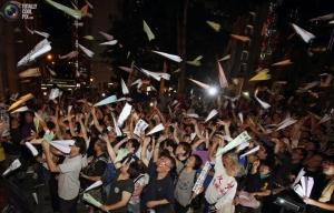 гонконг, протест, полиция, столкновения
