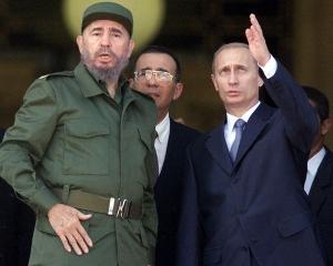 Путин, Фидель, Куба, Командировка