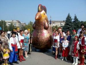 Славянск, День Независимости, парад