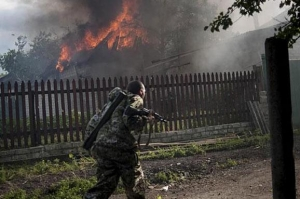 донецк, пожар, сводка, фото, разрушения
