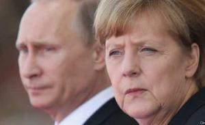 путин, меркель, украина, восток украины, встреча в милене