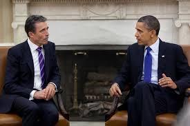 Барак Обама, Андерс Фог Расмуссен, НАТО, Россия, Украина, агрессия