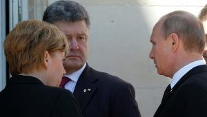 Путин, Порошенко, встреча, Франция, Германия